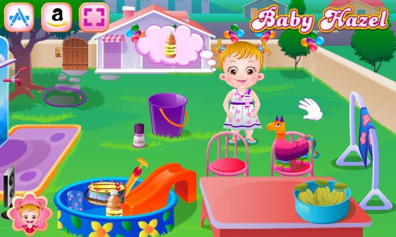 Baby Hazel Backyard Party - Onlihe Hra - Hrajte Nyní   Hryhry